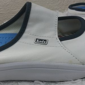 Keds Shoes - Keds White Canvas Slip On No Heel Sneakers